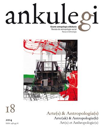 """Portada del número 18 de la revista """"Ankulegi"""""""