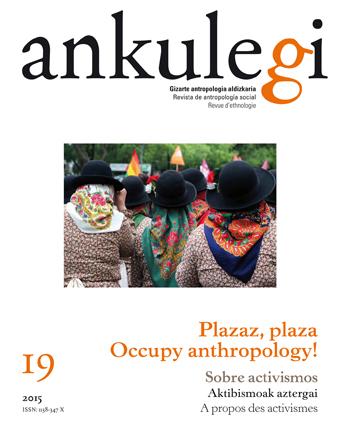 """Portada del número 19 de la revista """"Ankulegi""""."""