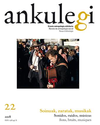 """Portada del número 22 de la revista """"Ankulegi""""."""