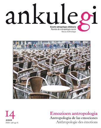 """Portada del número 14 de la revista """"Ankulegi""""."""