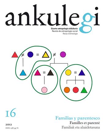 """Portada del número 16 de la revista """"Ankulegi""""."""