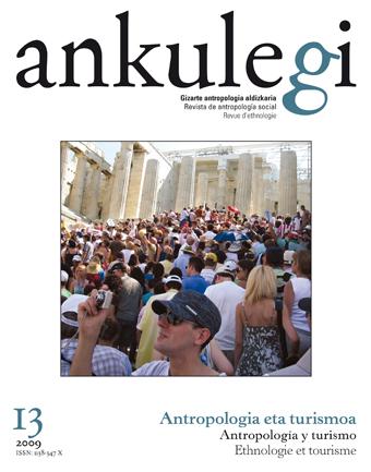 """Portada del número 13 de la revista """"Ankulegi""""."""